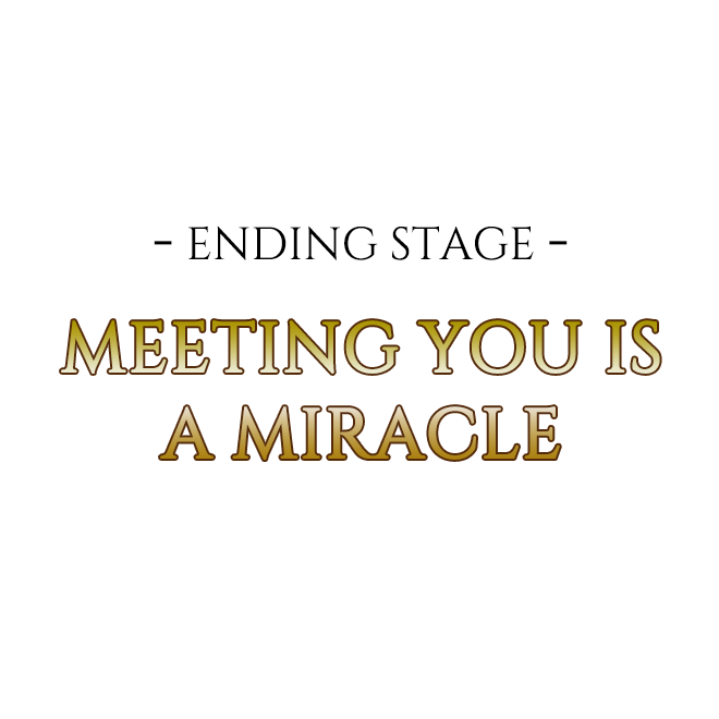 -ENDING STAGE- MEETING YOU IS A MIRACLE
