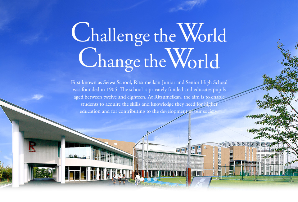 Challenge the World Change the World