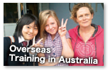 Overseas Training in Australia