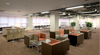 Space for group meetings and discussions