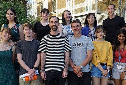The first cohort students commences in Canberra