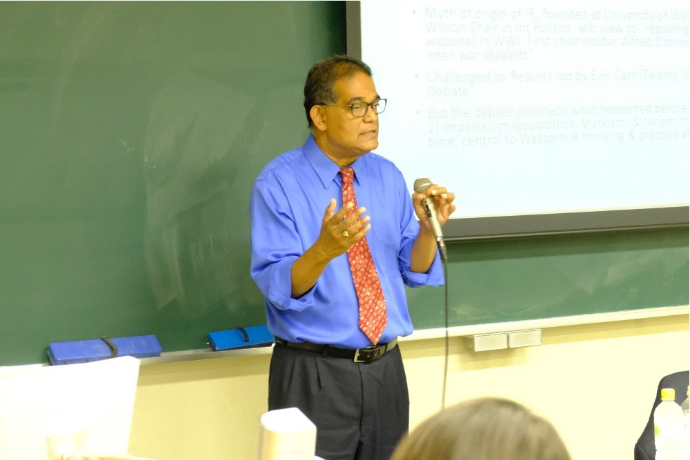 Prof. Amitav Acharya made a special lecture: What is Global IR?