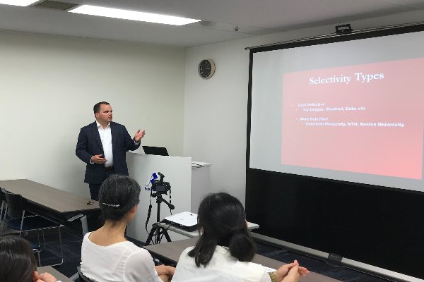 The Joint Degree Program Admission Fairs were held in Osaka and Tokyo
