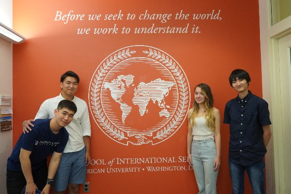 The first cohort of RU Home Students kick-start their studies at AU!
