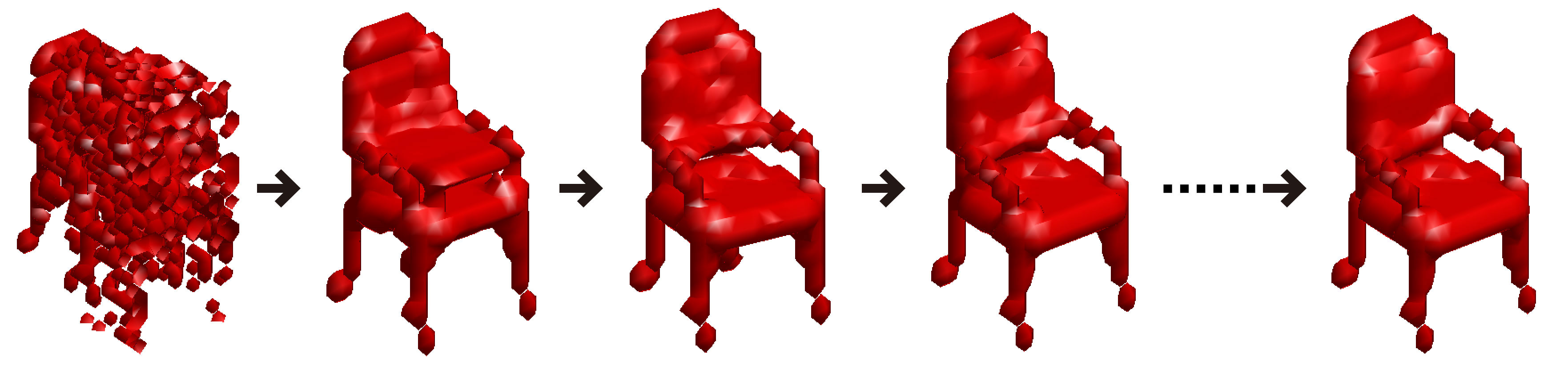 """Chairs, Designed by AI with Its """"Imagination"""" 